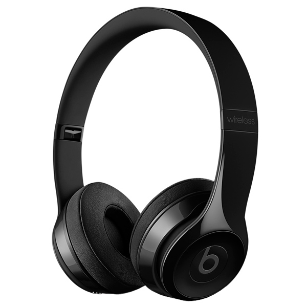 Наушники Bluetooth Beats Solo3 Wireless On-Ear Gloss Black (MNEN2ZE/A) беспроводные наушники beats mnep2ze a solo 3 wireless gloss white