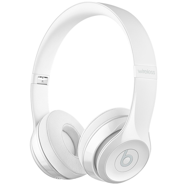 Наушники Bluetooth Beats Beats Solo3 Wireless On-Ear Gloss White MNEP2ZE/A наушники beats solo3 wireless on ear gloss black mnen2ze a