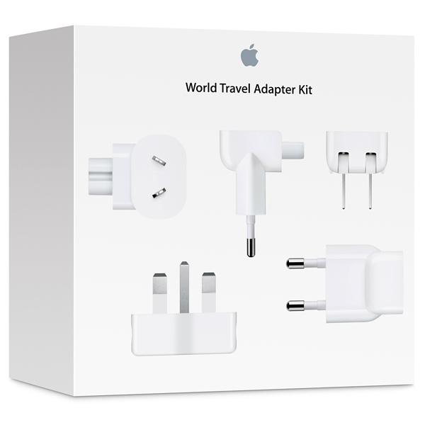 Сетевое зарядное устройство для Apple Apple компл.адаптеров World Travel Adapt.Kit(MD837ZM/A)