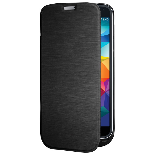 Чехол-аккумулятор InterStep для Galaxy S5 Black (IS-AK-PCS5FLPBK-000B201) беспроводная акустика interstep sbs 150 funnybunny blue is ls sbs150blu 000b201
