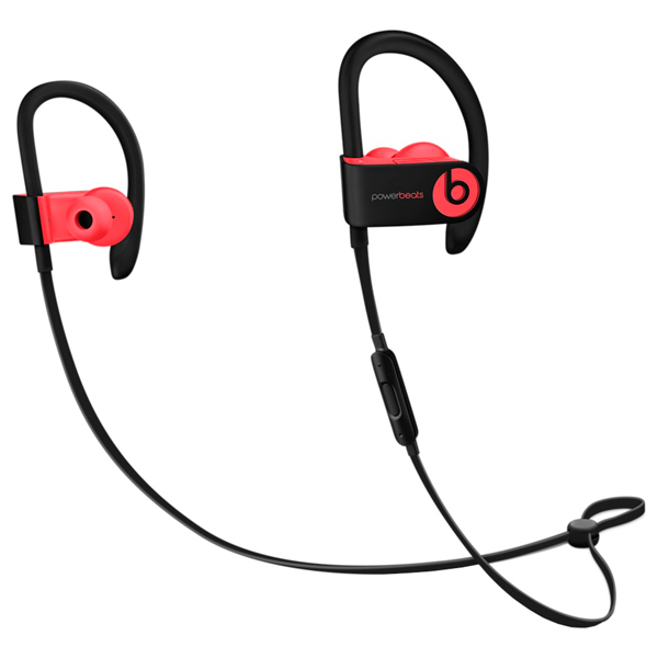 Спортивные наушники Bluetooth Beats Powerbeats3 Wireless Siren Red (MNLY2ZE/A) гарнитура beats powerbeats 3 wl red mnly2ze a