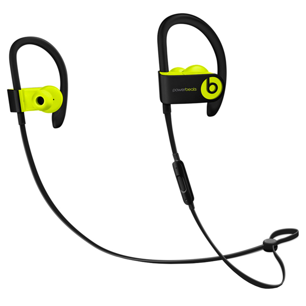 Спортивные наушники Bluetooth Beats Powerbeats3 Wireless Shock Yellow (MNN02ZE/A) beats mh782zm a powerbeats 2 wireless red