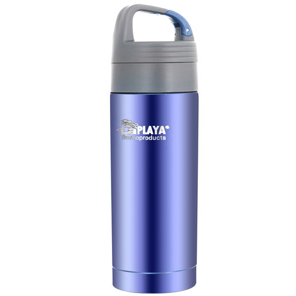 Термокружка LaPlaya Thermo Drink Mug Carabiner 0,35л Violet (560085) термокружка laplaya vacuum travel mug 0 4 л белая 560058