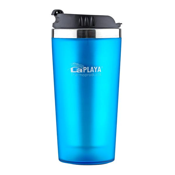 Термокружка LaPlaya Mercury Mug 0,4л Blue (560068) термокружка laplaya vacuum travel mug 0 4 л белая 560058