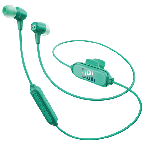 Наушники Bluetooth JBL E25BT Teal (JBLE25BTTEL) наушники bluetooth jbl e55bt teal jble55bttel