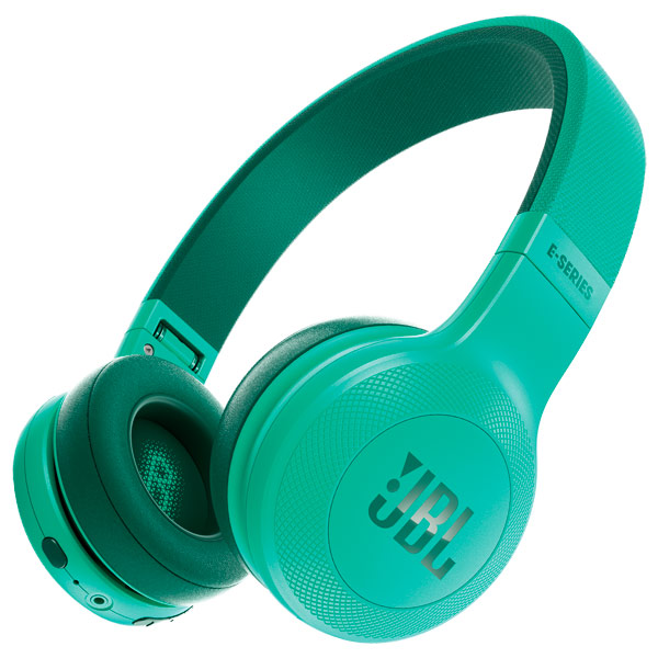 Наушники Bluetooth JBL E45BT Teal (JBLE45BTTEL) наушники bluetooth jbl e55bt teal jble55bttel