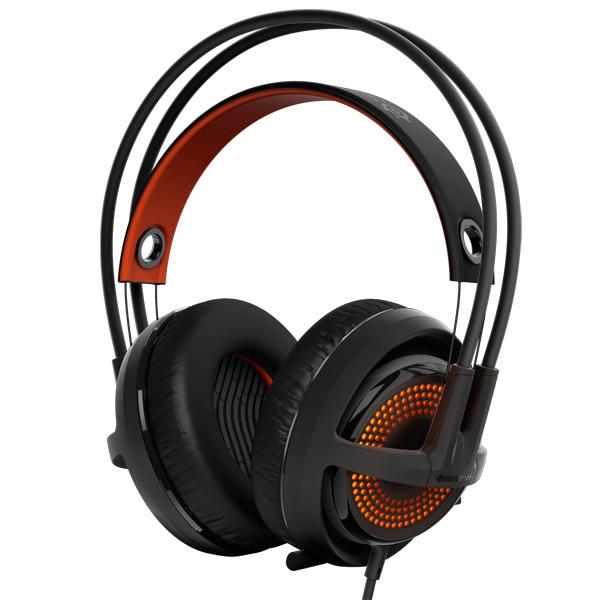 игровые наушники steelseries siberia v2 full size headset msi edition Игровые наушники Steelseries Siberia 350 Black (51202)