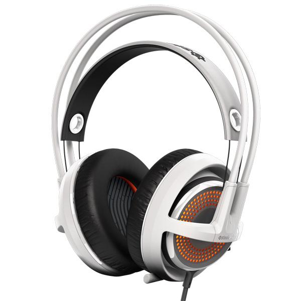 игровые наушники steelseries siberia v2 full size headset msi edition Игровые наушники Steelseries Siberia 350 White (51204)