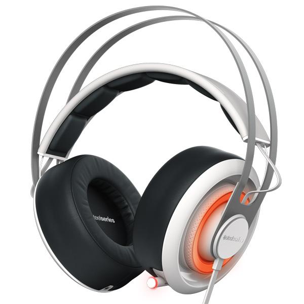 игровые наушники steelseries siberia v2 full size headset msi edition Игровые наушники Steelseries Siberia 650 White/Black (51192)