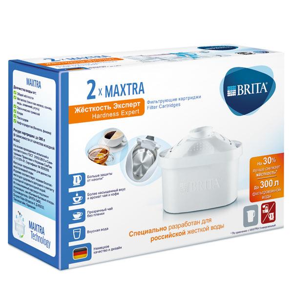 Картридж к фильтру для очистки воды Brita Maxtra Hardness Expert Pack 2 brita maxtra pack3 3шт