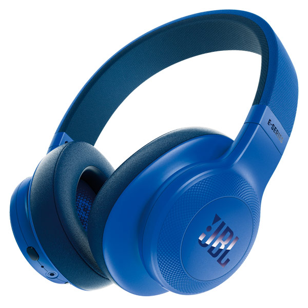 Наушники Bluetooth JBL E55BT Blue (JBLE55BTBLU) moschino couture юбка длиной 3 4