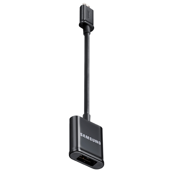 Кабель для сотового телефона Samsung ET-R205 USB-A - microUSB-B Black (ET-R205UBEGSTD) samsung et r205ubegstd otg microusb usb