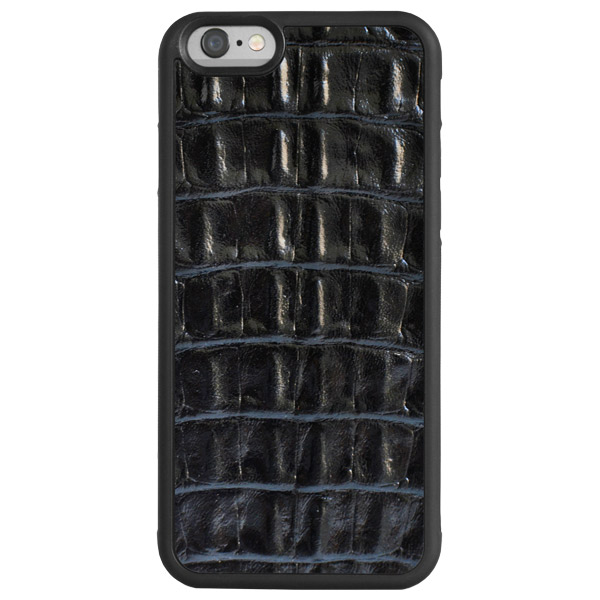 Чехол для iPhone Glueskin для iPhone 6 Plus Black Croco (6р-30С) чехол prime rocca для iphone 6 plus black