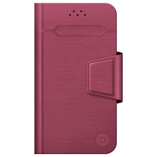 Универсальный чехол для смартфона Deppa Wallet Fold M 4.3''-5.5'' Red