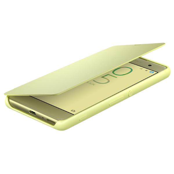 Чехол для сотового телефона Sony SCR54 Lime Gold для Xperia XA смартфон sony xperia xa lte f3111 lime gold