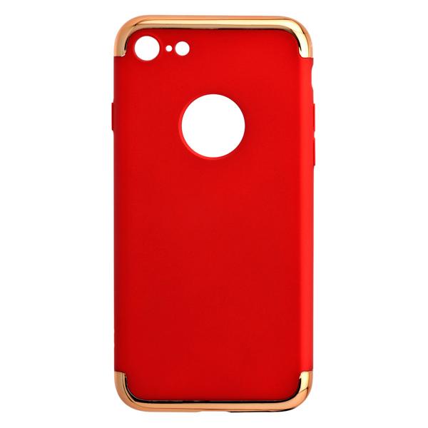 Кейс для iPhone Red Line Element для iPhone 7 красный (золотистая рамка) рамка для секционного м да