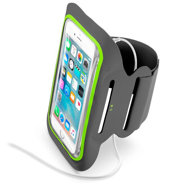 Спортивный чехол для сотового телефона Cellular Line ARMBANDFIT52K чехол на сиденье autoprofi gob 1105 gy line m