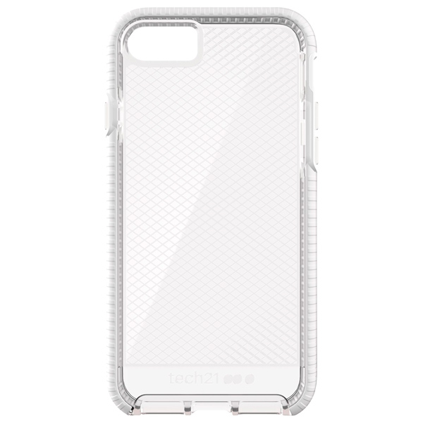 Чехол для iPhone Tech21 T21-5330 Clear/White чехол для iphone tech21 t21 5094 clear grey