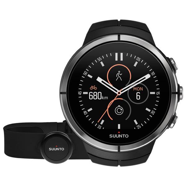 Спортивные часы Suunto SPARTAN ULTRA Black (HR) спортивные часы suunto essential ceramic all black tx