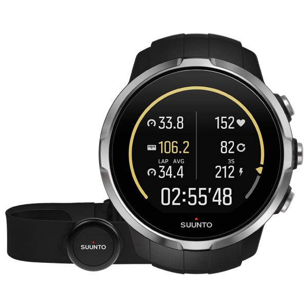 Спортивные часы Suunto SPARTAN SPORT Black (HR) умные часы suunto spartan sport wrist hr copper