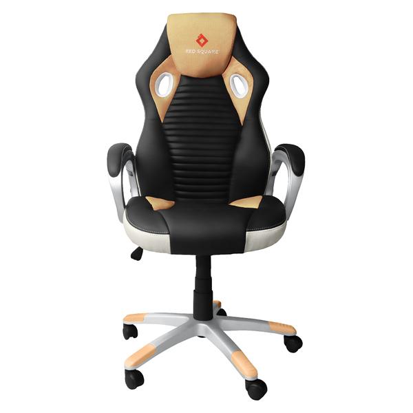 Кресло компьютерное игровое Red Square Comfort Yellow сиденья водительское для ваз 2112