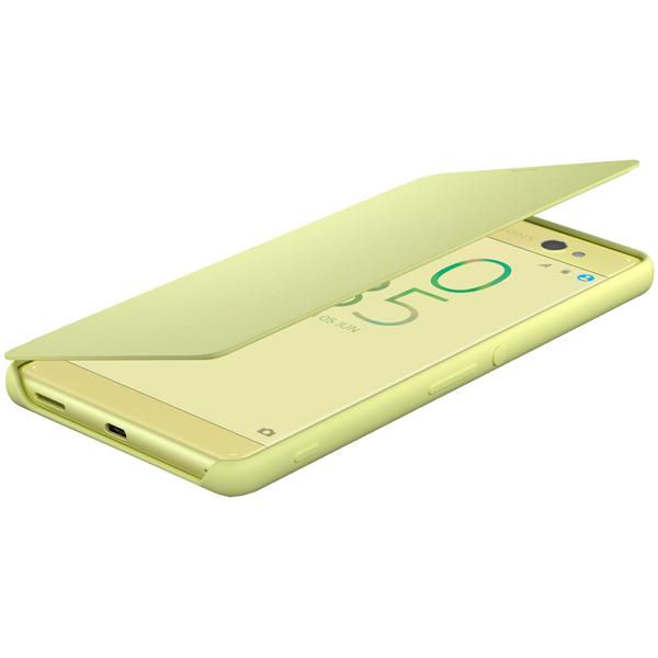 Чехол для сотового телефона Sony SCR60 Lime Gold для Xperia XA Ultra смартфон sony xperia xa lte f3111 lime gold