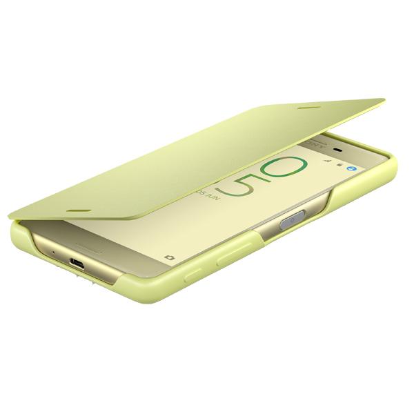 все цены на Чехол для сотового телефона Sony SCR52 Lime Gold для Xperia X онлайн