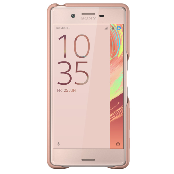 все цены на Чехол для сотового телефона Sony SBC22 Rose Gold для Xperia X онлайн