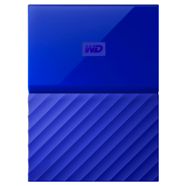 "Внешний жесткий диск 2.5"" WD My Passport 1Tb Blue (WDBBEX0010BBL-EEUE)"
