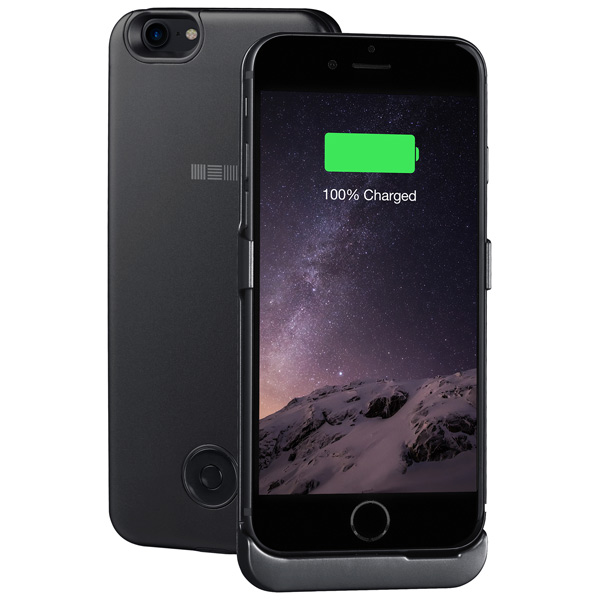 Чехол-аккумулятор InterStep для iPhone 7 Black (IS-AK-PCIP73ASG-000B210) кабель usb type c interstep usb 3 0 neylon silver 1m is dc typcusbns 000b210