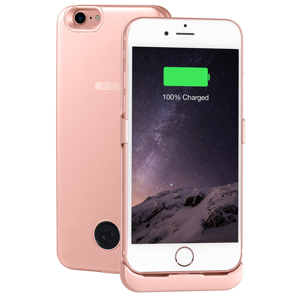Чехол-аккумулятор InterStep для iPhone 7 Rose  (IS-AK-PCIP73ARG-000B210) кабель usb type c interstep usb 3 0 neylon silver 1m is dc typcusbns 000b210
