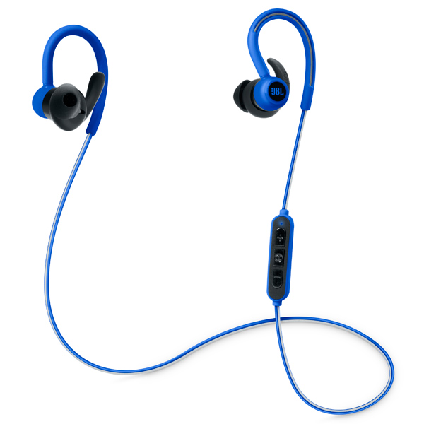 Спортивные наушники Bluetooth JBL Reflect Contour Blue (JBLREFCONTOURBLU)