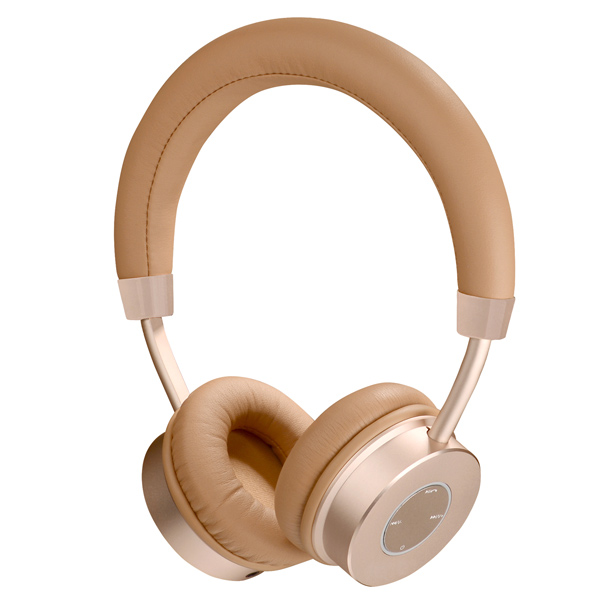 Наушники Bluetooth InterStep SBH-410 Metal Gold (IS-BT-SBH410TGM-000B201)