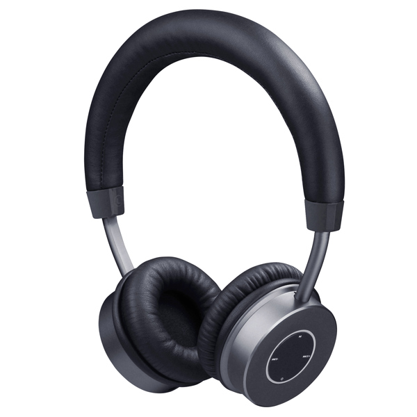 Наушники Bluetooth InterStep SBH-410 Metal Jet Black (IS-BT-SBH410SGM-000B201)