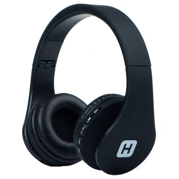 Наушники Bluetooth с MP3 Harper HB-203 Black