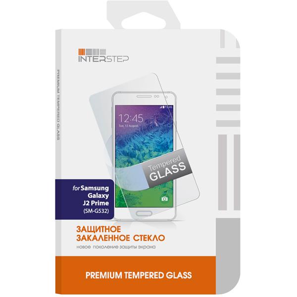 Защитное стекло для Samsung InterStep для Samsung J2 Prime (G532) Закаленное 0,3мм защитные стекла rosco защитное стекло brosco для samsung j2 prime