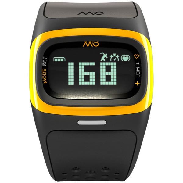 Спортивные часы Mio ALPHA 2 Yellow Large (58P-YLW) пульсометр mio fuse s m cobalt