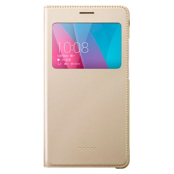 Чехол для сотового телефона Honor 5X Smart Cover Gold huawei smart cover чехол для honor 5x white