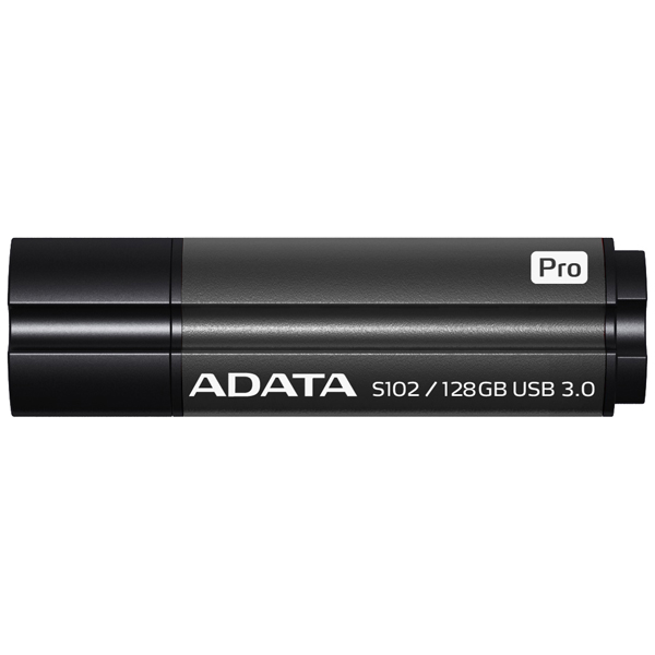 Флеш-диск ADATA S102 Pro 128GB Gray (AS102P-128G-RGY)
