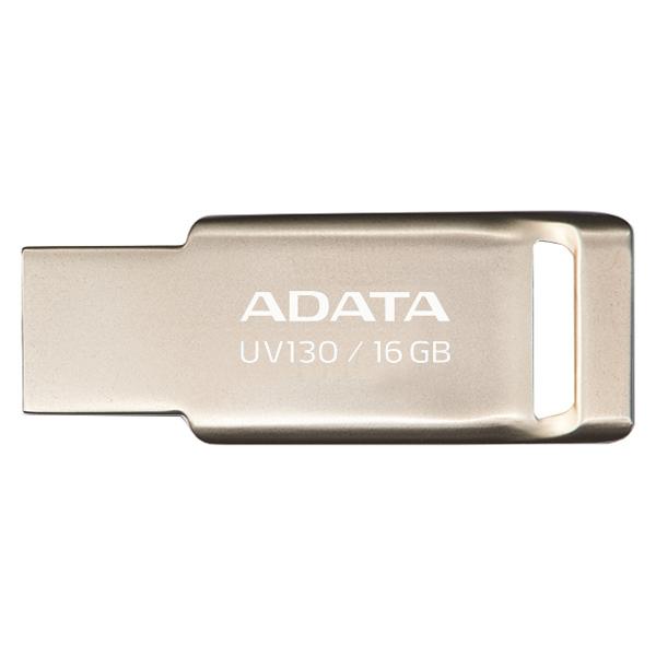 Флеш-диск ADATA UV130 16GB Gold (AUV130-16G-RGD)