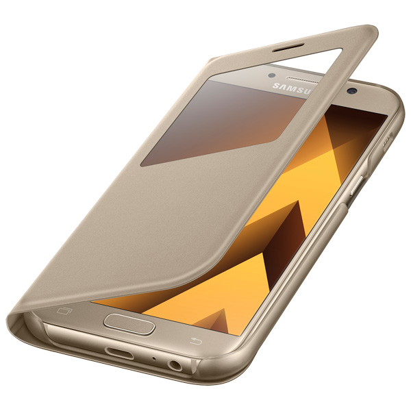 Чехол Samsung A5 2017 S View Standing Cover Gold