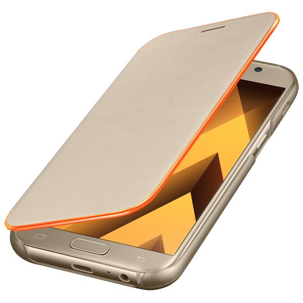 Чехол для сотового телефона Samsung A5 2017 Neon Flip Cover Gold