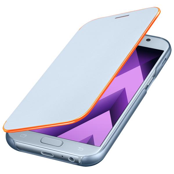 Чехол для сотового телефона Samsung A5 2017 Neon Flip Cover Blue чехол для сотового телефона nokia 5 blue ср 302