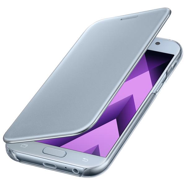 Чехол для сотового телефона Samsung A5 2017 Clear View Cover Blue чехол для сотового телефона honor 5x smart cover grey