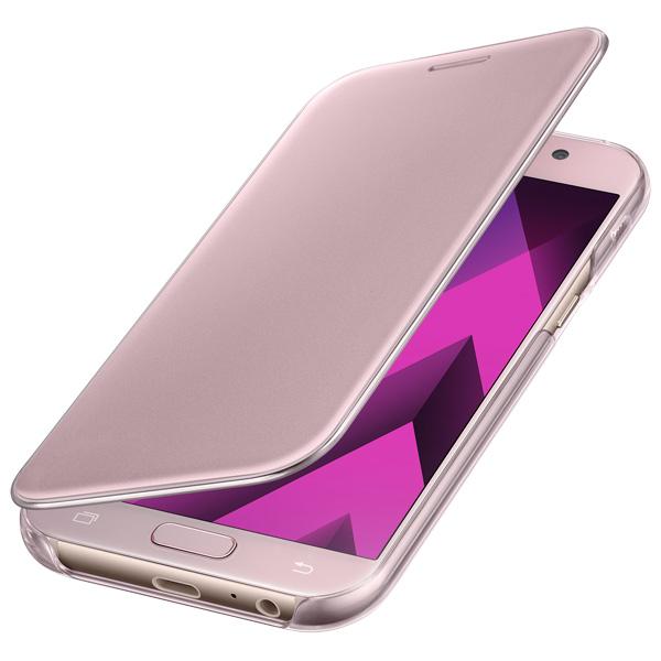 Чехол для сотового телефона Samsung A5 2017 Clear View Cover Pink чехол для сотового телефона honor 5x smart cover grey