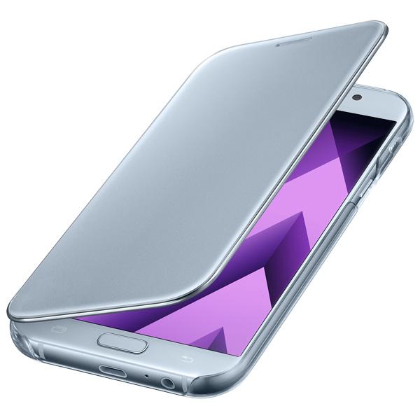Чехол для сотового телефона Samsung A7 2017 Clear View Cover Blue чехол для samsung galaxy a7 2017 sm a720f clear view cover голубой