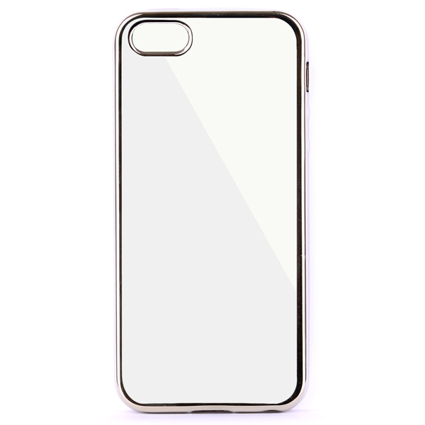 Чехол InterStep Frame для iPhone 5/5S Silver