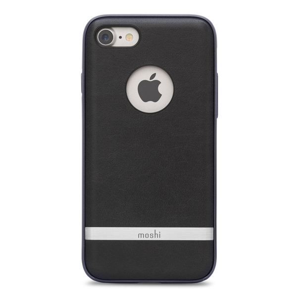 Чехол для iPhone Moshi для iPhone 7 Napa Charcoal Black (99MO088003) чехол для iphone moshi для iphone 7 napa charcoal black 99mo088003