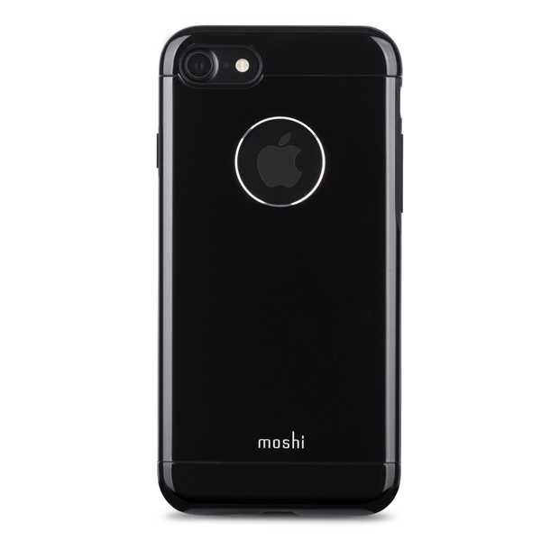Чехол для iPhone Moshi для iPhone 7 Armour Onxy Black (99MO088004) чехол для iphone moshi для iphone 7 napa charcoal black 99mo088003