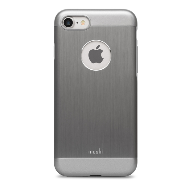 все цены на Чехол для iPhone Moshi для iPhone 7 Armour Gunmetal Gray (99MO088021) онлайн